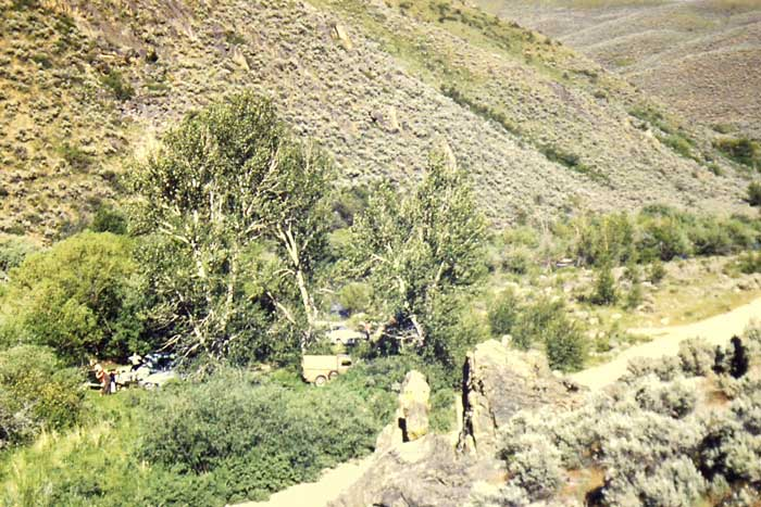 Camping in Vicinity of Owyhee, Nevada