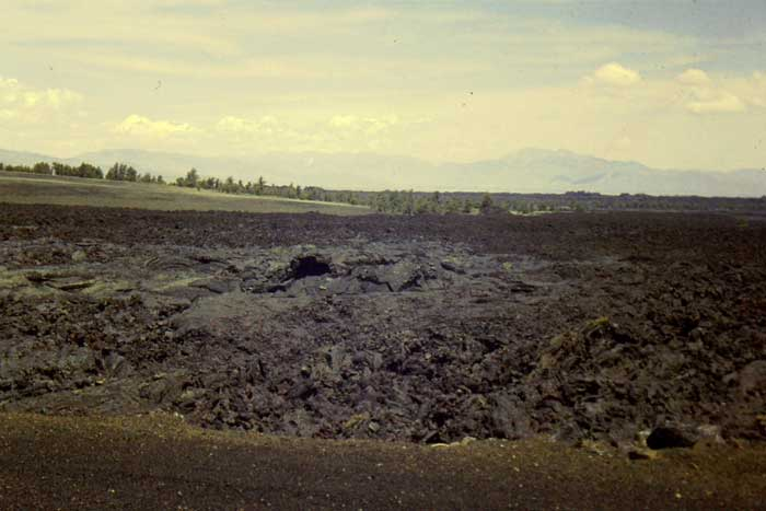 Lava Field at Craters of the Moon National Monument, Idaho